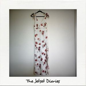 The Jetset Diaries Long Floral Dress NWOT